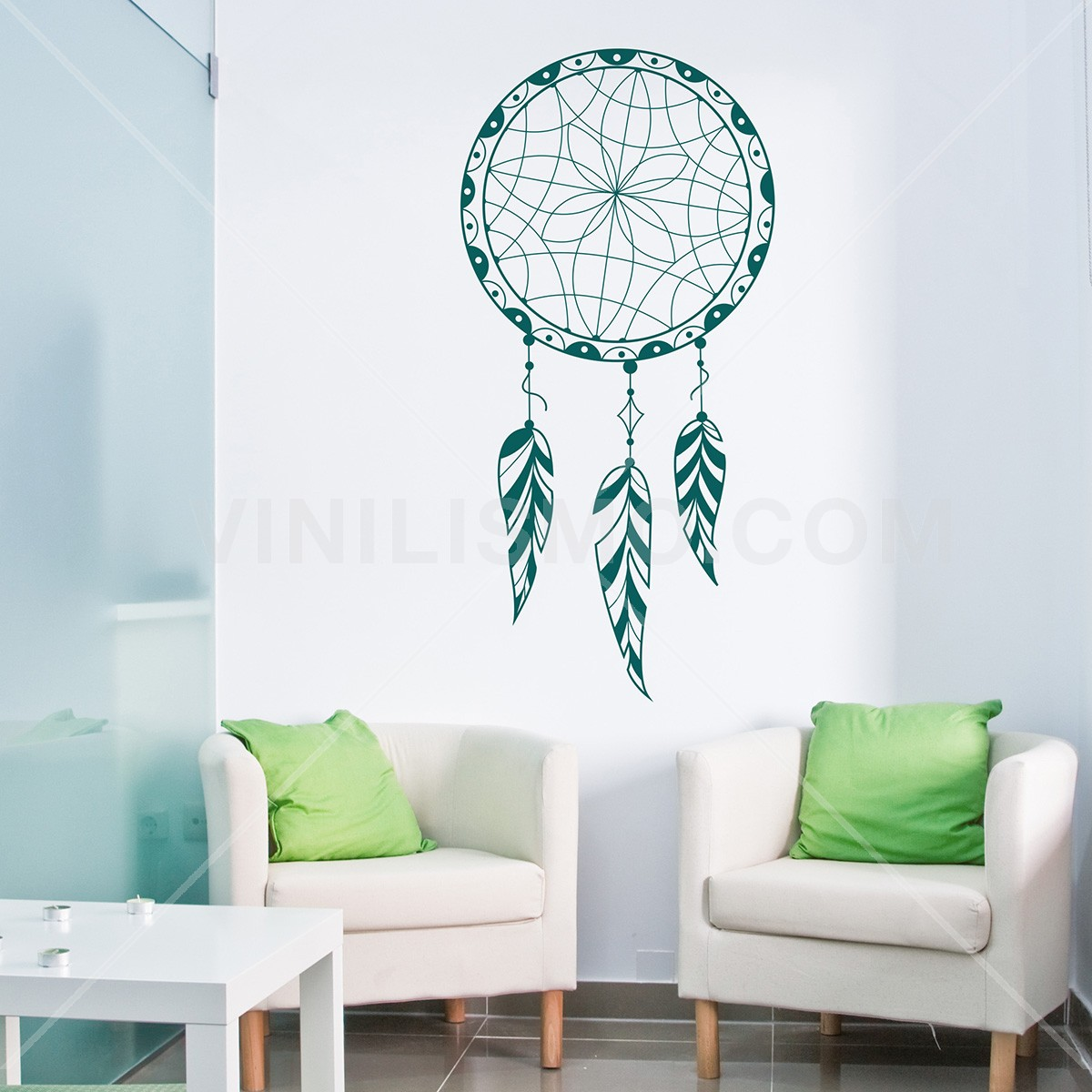 Vinilo decorativo dreamcatcher - Vinilos decorativos zen ...