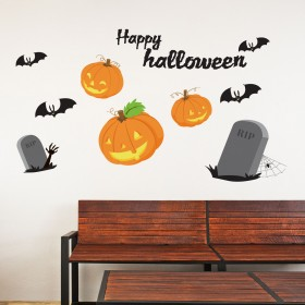 Vinilo Decorativo: Happy Halloween