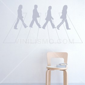 Vinilo Decorativo: Abbey Road