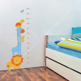 Vinilo Decorativo: Estatura Infantil 3