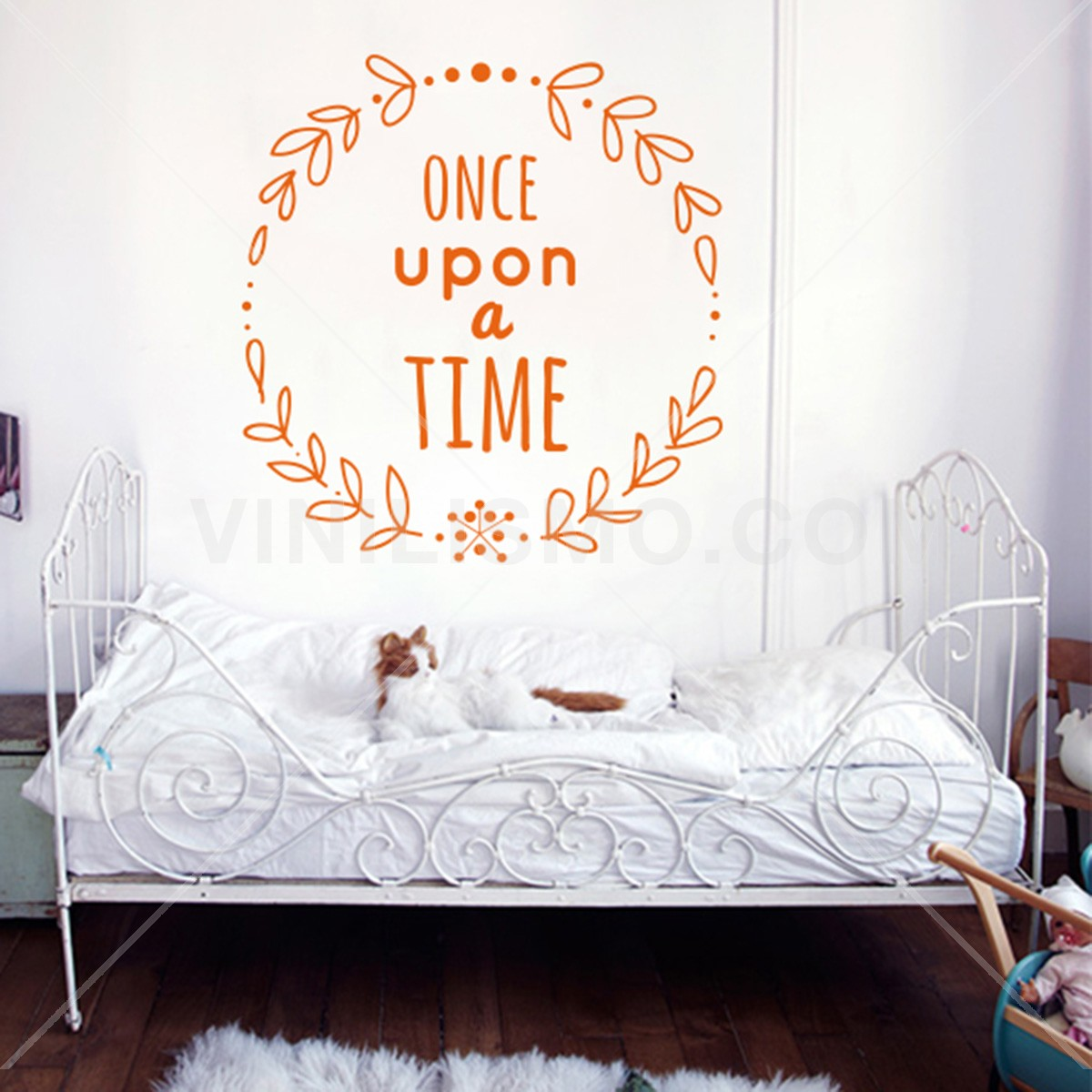 Vinilo Decorativo: Once Upon a Time