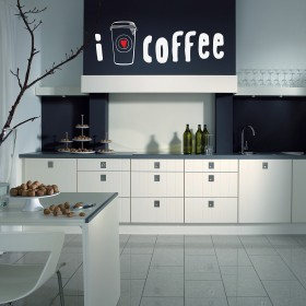 Wall Decal: Cafeína