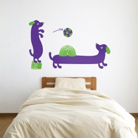 Wall Decal: Slinky