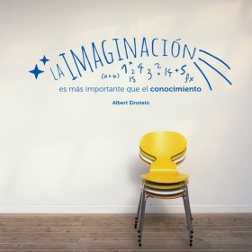 Wall Decal: Imaginación