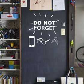 Wall Decal: Do Not Forget