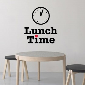 Wall Decal: Lunch Time