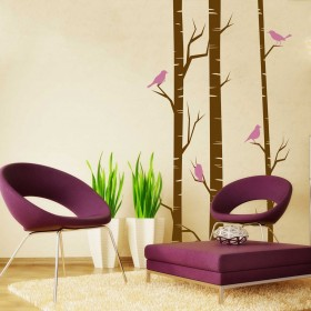 Wall Decal: Un Pedacito de Bosque