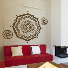 Wall Decal: Flor Mandala 3