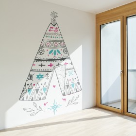 Wall Decal: Tipi