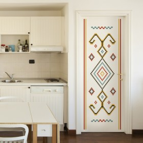 Wall Decal: Rebozo Mexicano