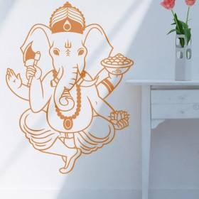 Wall Decal: Ganesh