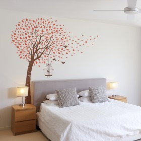 Wall Decal: Árbol brisa 2