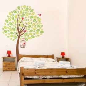 Wall Decal: Árbol bicolor