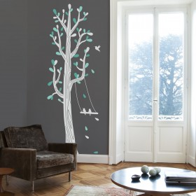 Wall Decal: Árbol columpio