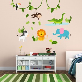 Wall Decal: La Selva