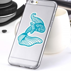 Cell phone decal: Pez betta