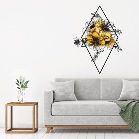 Featured products Vinilo Decorativo: Flor geométrica