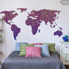 Featured products Vinilo Decorativo: Mapa Confetti
