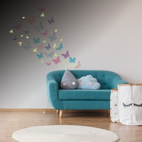 Featured products Vinilo Decorativo Fotoluminiscente: Mariposas Fotoluminiscente