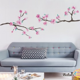 Featured products Vinilo Decorativo: Ramas Rosas