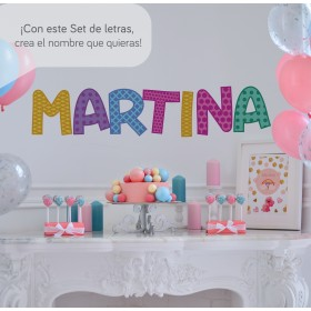 Featured products Vinilo Decorativo: Set Abecedario