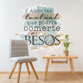 Vinilo Decorativo: TEXTUAL