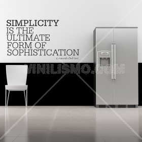 Wall Decal: Simplicity