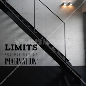 Wall Decal: Limits