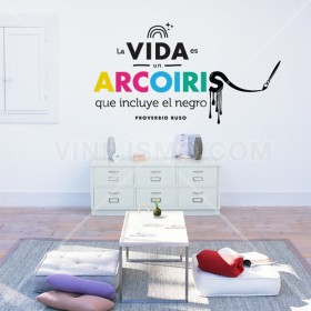 Wall Decal: Arcoiris