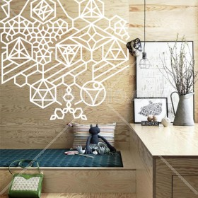 Wall Decal: Glyph
