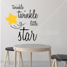 Wall Decal: Twinkle Twinkle