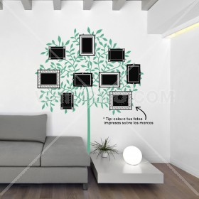 Wall Decal: Árbol con Marcos