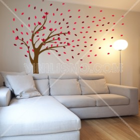 Wall Decal: Árbol Cromático
