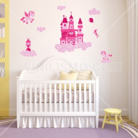 Wall Decal: Mundo mágico