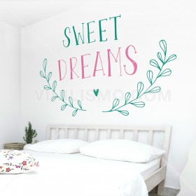 Wall Decal: Sweet dreams 2