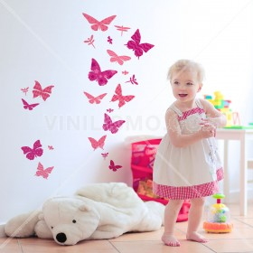 Wall Decal: Mariposas