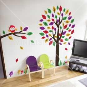 Wall Decal: Árbol Divertido