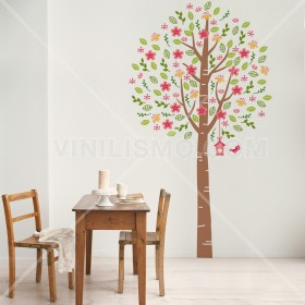 Wall Decal: Árbol florecer 2