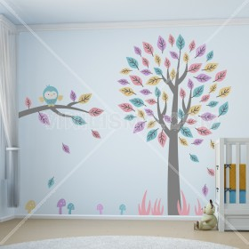 Wall Decal: Árbol Divertido 3