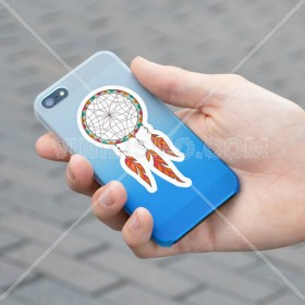 Cell phone decal: Dreamcatcher