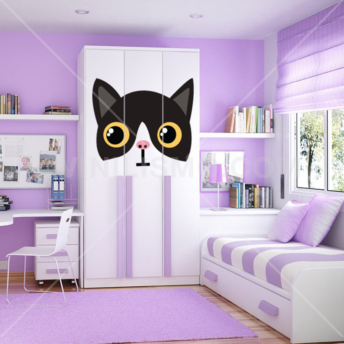 Vinilo Decorativo: Kitty Cat