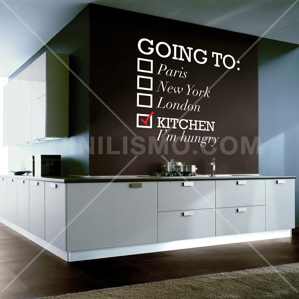 Vinilo Decorativo: Going To