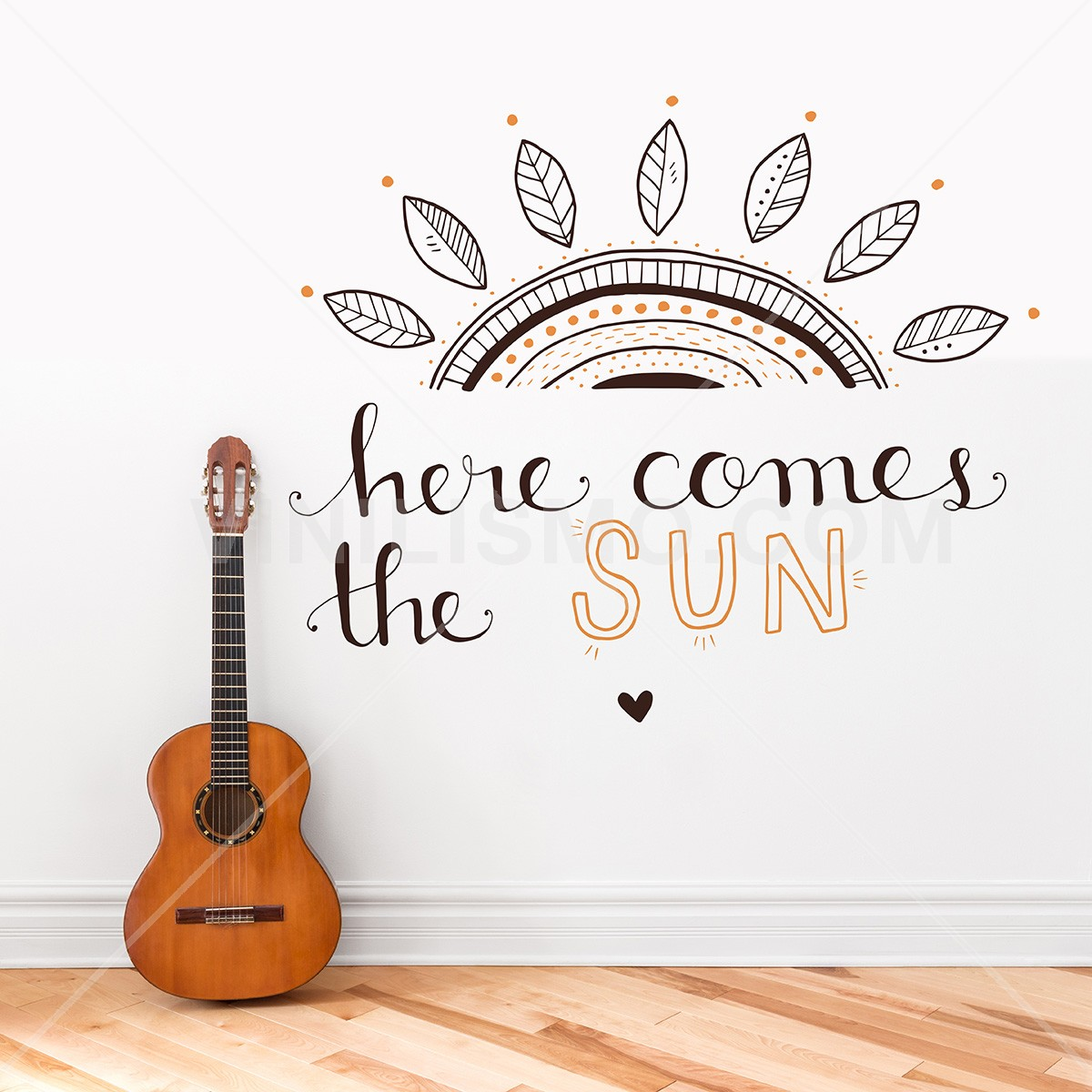 Vinilo Decorativo: Here comes the sun