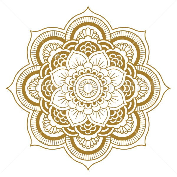 Wall Decal Flor Mandala